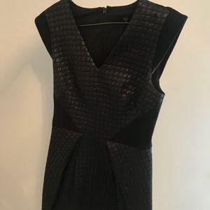 Tibi formal black dress